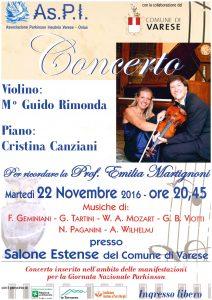 Locandina Concerto 20161122